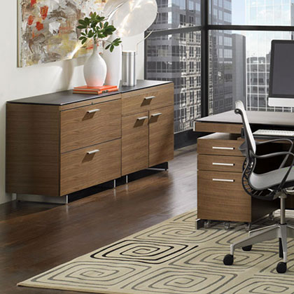 BDI Modern File Cabinets and Storage Cabinets