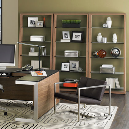 BDI Modern Bookcases + Shelving