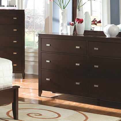 modern contemporary bedroom furniture eurway modern 11198 | eurway dressers