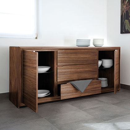 Authentic Italian Made Modern Storage