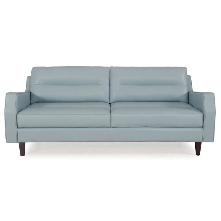 Modern Sofas | Ivy Blue Leather Sofa | Eurway Furniture