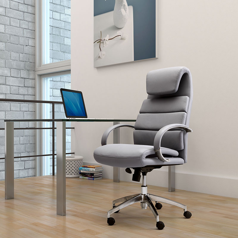 Landis Executive Office Chair | Gray