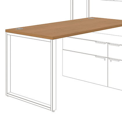 modern desk tops and bases office furniture