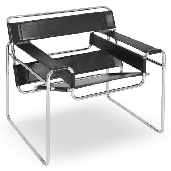 WASSILY CHAIR | BLACK