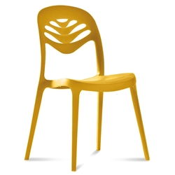 4U2 Mustard Modern Dining Chair