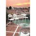 4U2 White Outdoor Dining Chair Lifestyle Roof Top