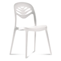 4U2 White Modern Dining Chair by Domitalia