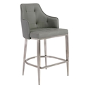 Ava Gray Modern Counter Stool