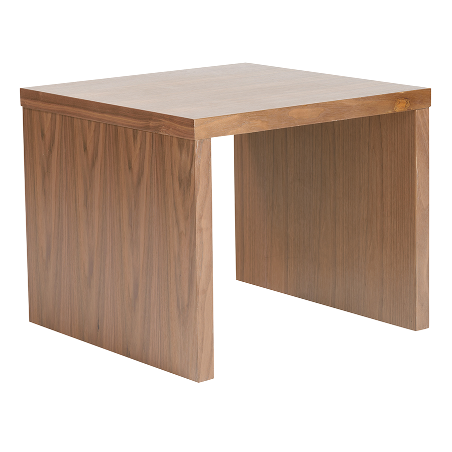 Call To Order · Abby Walnut Modern Side Table. Modern End Tables Abby  Walnut