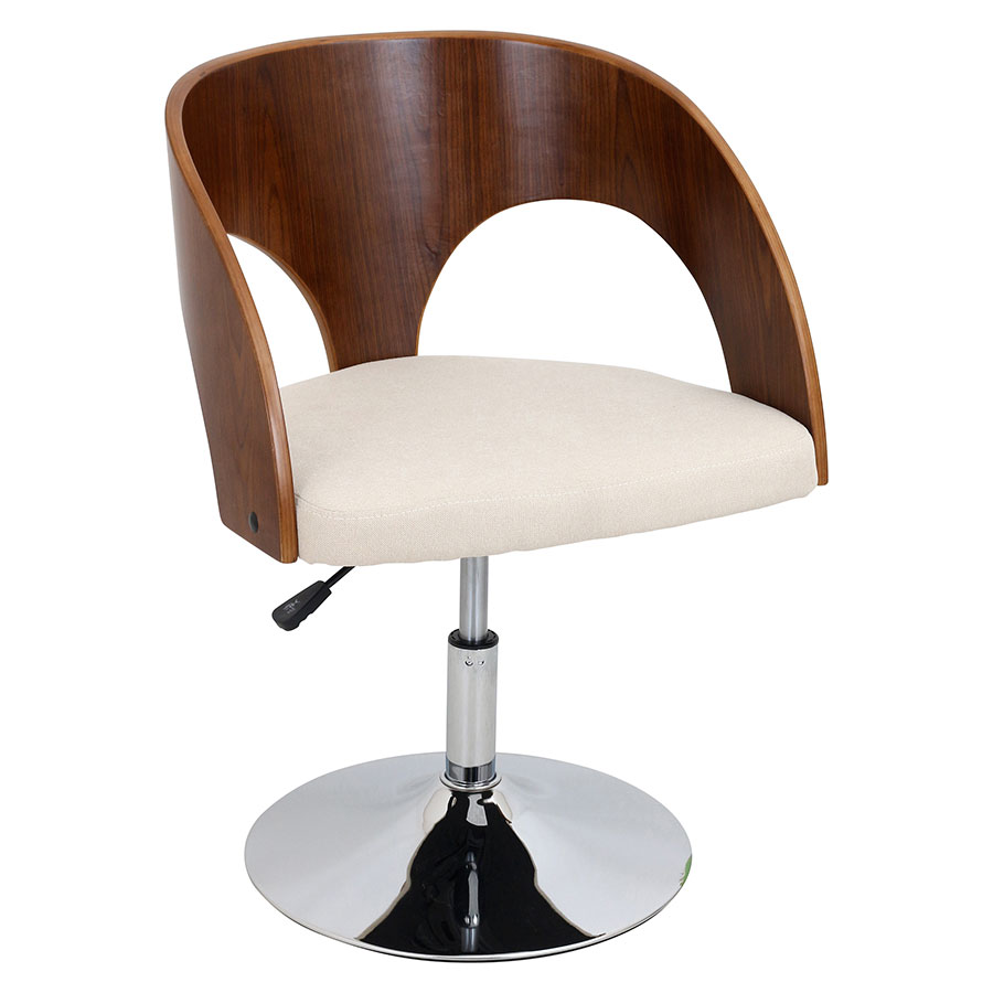 Abu Cream Modern Adjustable Chair