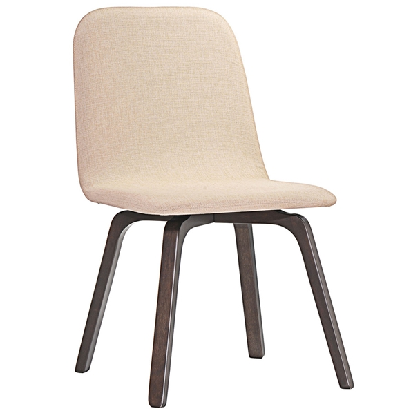 Acclaim Contemporary Beige Dining Chair