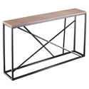Accord Modern Faux Stone Top Console Table