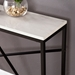 Accord Contemporary Faux Marble Console Table