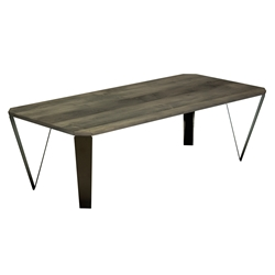 Ace Modern Rectangular Nantucket Cocktail Table by Saloom