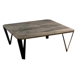 Ace Modern Square Nantucket Cocktail Table by Saloom