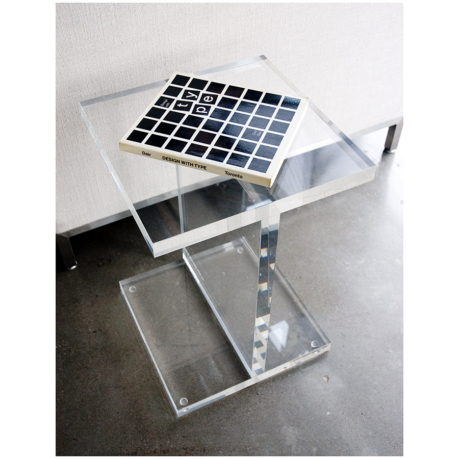... Gus Modern Acrylic I Beam End Table ... Part 97