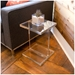 Acrylic Side Table by Gus Modern