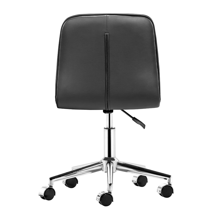 office chair back view. Adam Modern Office Chair - Back View C
