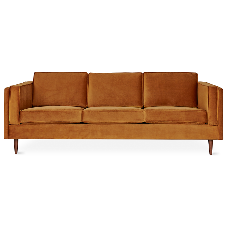 Rust sofa meridian la danish rust sofa thesofa Ashley home furniture adelaide
