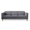 Gus Modern Adelaide Contemporary Sofa in Varsity Charcoal