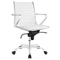 Advance Modern White Office Chair