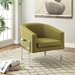 Agnes Green Contemporary Lounge Chair