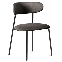 Ahab Brown Modern Dining Chair