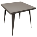 "Ajax Antique 32"" Modern Dining Table"