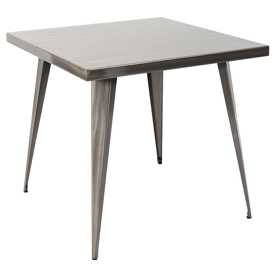 "Ajax Brushed 32"" Modern Dining Table"