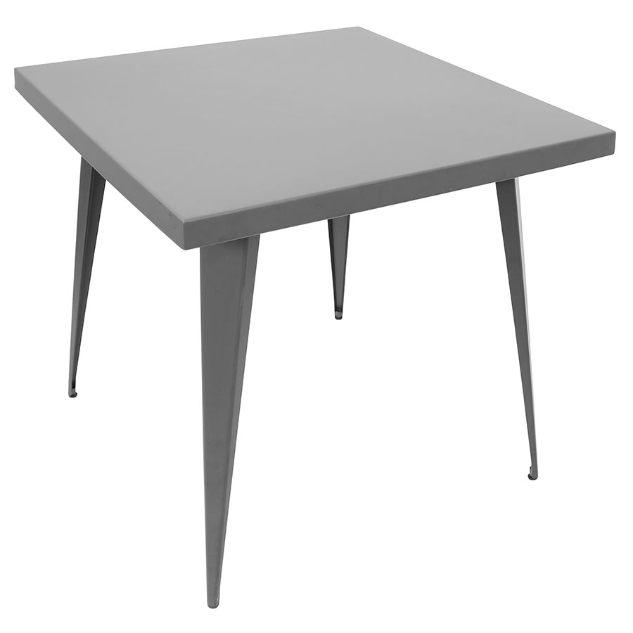 "Ajax Gray 32"" Modern Dining Table"