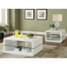 Alaska Contemporary White Coffee Table