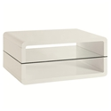 Alaska Modern White Coffee Table