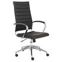 Alex Modern High Back Black Office Chair