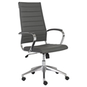 Axel Modern Gray High Back Black Office Chair