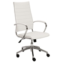 Axel Modern White High Back Black Office Chair