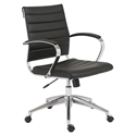 Alex Modern Low Back Black Office Chair
