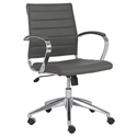 Axel Modern Low Back Gray Office Chair