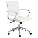 Alex Modern Low Back White Office Chair