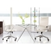 Axel High and Low Back White Office Chairs