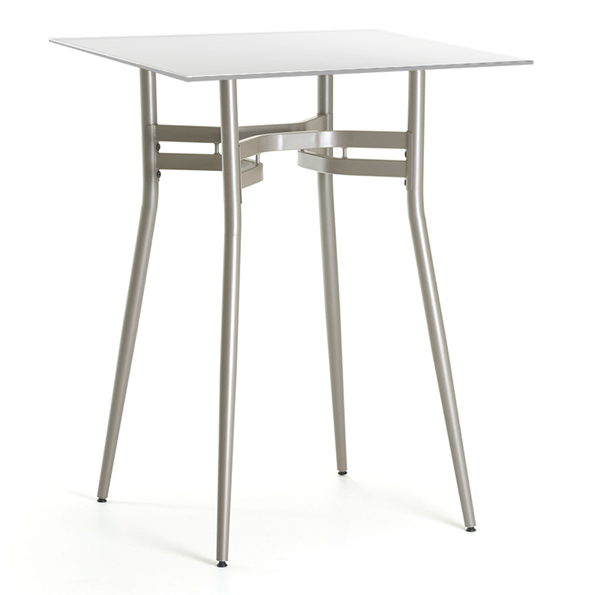Modern bar tables alistair white bar table eurway for Table bar moderne