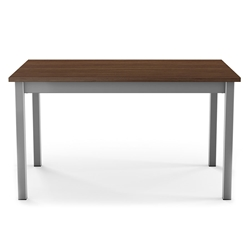 Alley Modern Dining Extension Table by Amisco - Magnetite