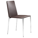 Alex Modern Brown Dining Chair