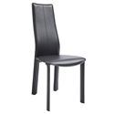 Allisone Black Modern Dining Chair