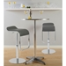 Ally Modern Bar Table and Fresno Adjustable Stools