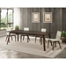 Alton Ext. Dining Table in Walnut by Saloom Furniture