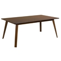 Alton Contemporary Walnut Extension Table by Saloom