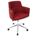 Alvis Modern Red Office Chair