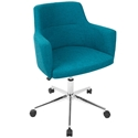 Alvis Modern Teal Office Chair