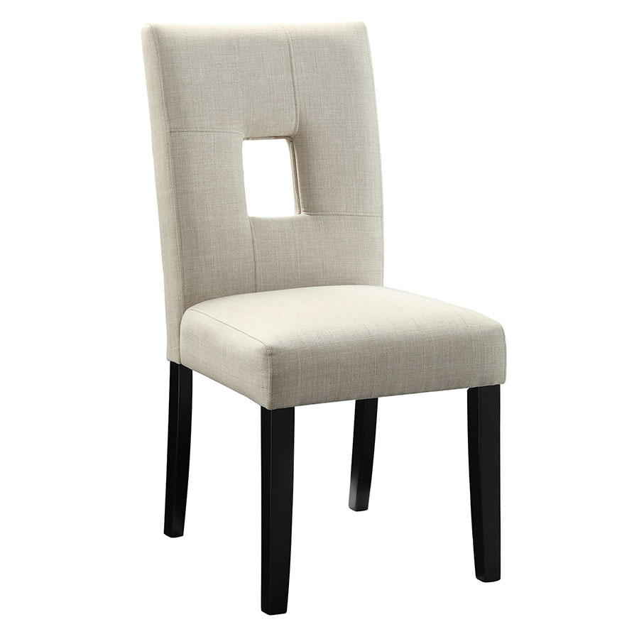 Alyssa Modern Dining Chair in Beige