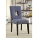 Alyssa Blue Contemporary Dining Chair